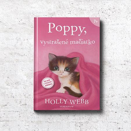 Poppy, vystrašené mačiatko