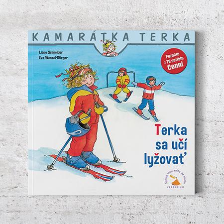 Kamarátka Terka - 13. diel: Terka sa učí lyžovať