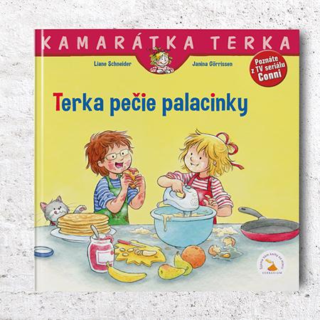 Kamarátka Terka - 35. diel: Terka pečie palacinky