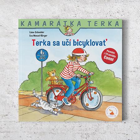 Kamarátka Terka - 7. diel: Terka sa učí bicyklovať